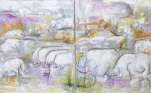 Artwork by Trixie Pitts. Her work appears in the Celebration of Landscapes at www.artsyshark.com