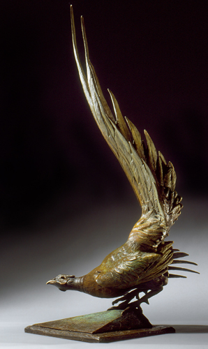 """""""Tale of Respect"""" Bronze, 37"""" x 26"""" x 28"""" by artist Ken Newman. See his portfolio by visiting www.ArtsyShark.com"""