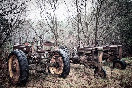 Tractor photo by Todd McPhetridge
