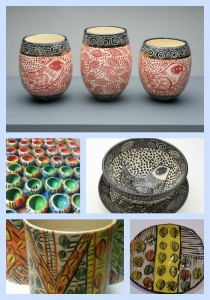 Pottery Collage