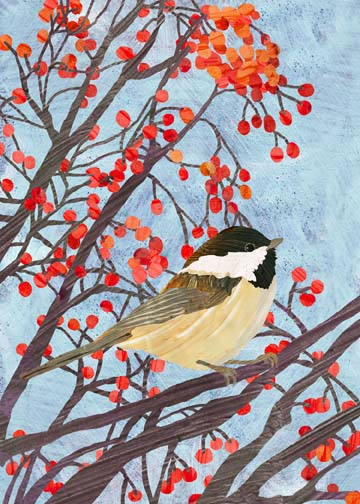 Two Can Art Chickadee