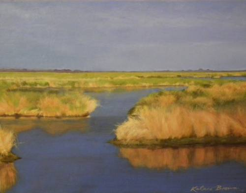 """Bayou Savage Summer Afternoon"" by artist Kalaco Brown"