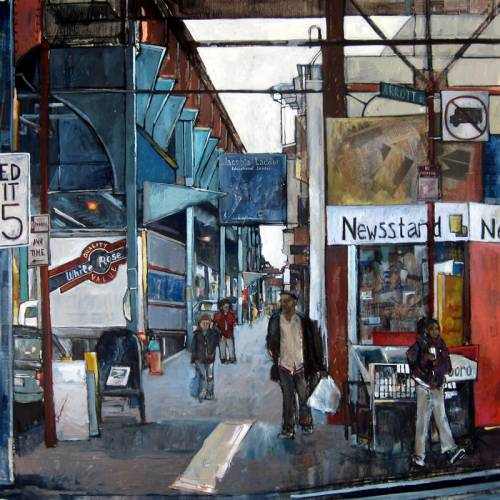 """Frankford and Arrott"" by artist Teresa Haag"