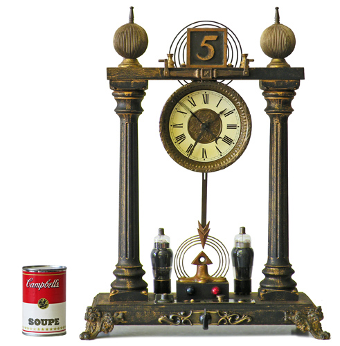 Decanter Clock