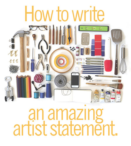 How to write an amazing artist statement