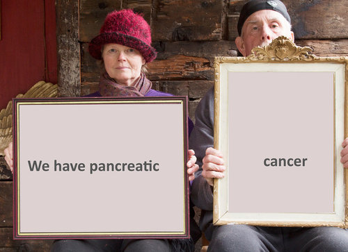 """We Have Pancreatic Cancer"" photograph by Wendy Denton"