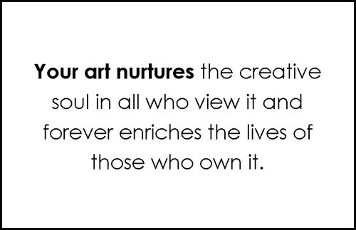 Art Nurtures the Creative Soul