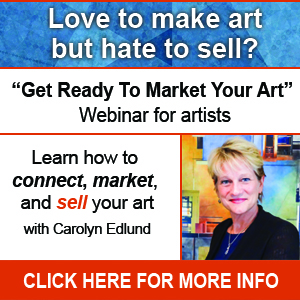 Get Ready to Market Your Art Webinar takes place June 21, 2016.