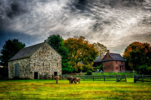 """Milner Estate"" Photography, Various Sizes by artist Robert Lott. See his portfolio by visiting www.ArtsyShark.com"