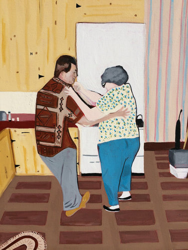 "Artwork by Cindy Sullivan, in the article ""Art & Women"" at www.ArtsyShark.com"