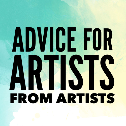 "Advice for Artists from Artists. We asked, ""How do you balance studio and administrative time?"" See the answers at www.ArtsyShark.com"