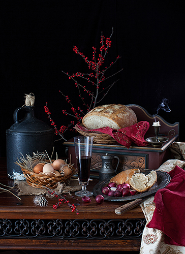 """Farmer's Table"" Photography, Various Sizesby artist Yelena Strokin. See her portfolio by visiting www.ArtsyShark.com"