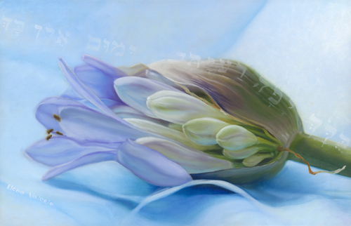 """Beauty in Essence"" Oil on Canvas, 23"" x 15"" by Elena Valerie. See her portfolio by visiting www.ArtsyShark.com"