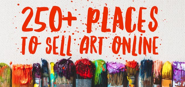 Where to sell art online for Places to sell art online