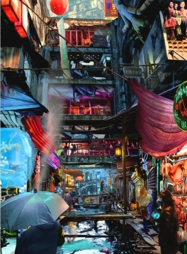 """""""Welcome Home"""" Digital Art, Various Sizes by artist Mitch Madsen. See his portfolio by visiting www.ArtsyShark.com"""