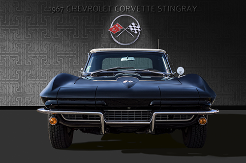 """1967 Corvette Convertible"" Photography, Various Sizes by artist Andrew Millar. See his portfolio by visiting www.ArtsyShark.com"