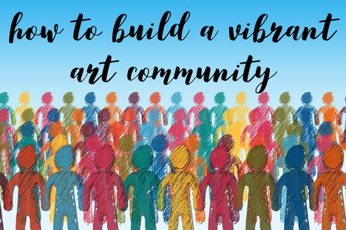 How to Build a Vibrant Art Community, interview with Mitch Bowler of Pencil Kings
