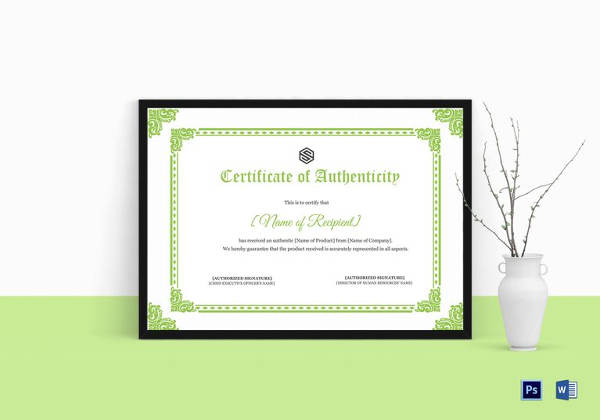 Certificates of Authenticity for Artists | Artsy Shark ...