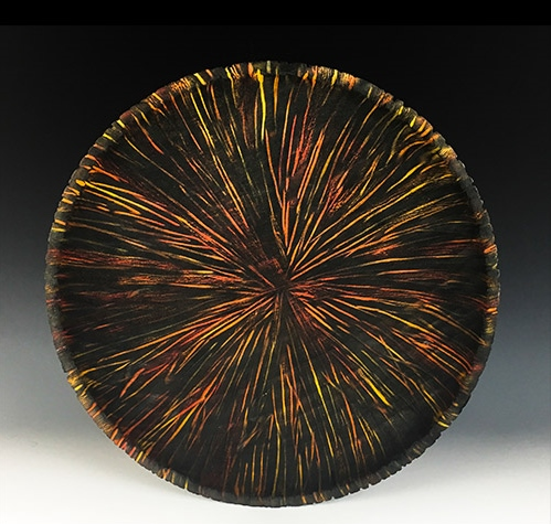 Friday Night Firepit, turned bowl by Jeff Hornung