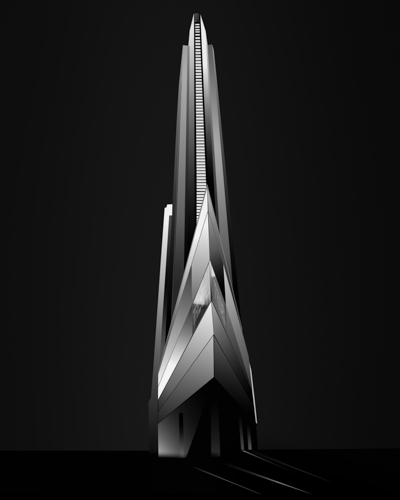 black and white architectural photography by Wayne Fisher