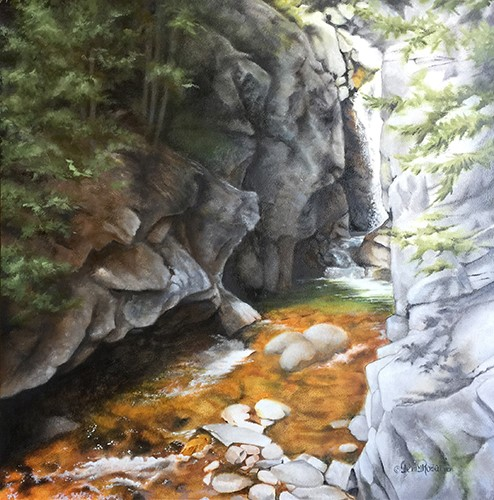 landscape painting by Teri Rosario