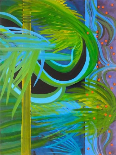 abstract painting by Carol Lukitsch