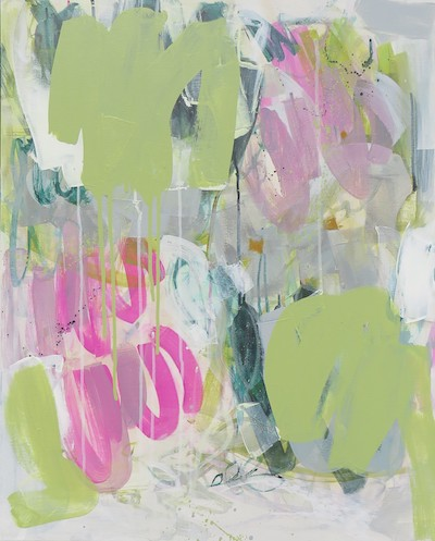 abstract painting by Marcie Couet