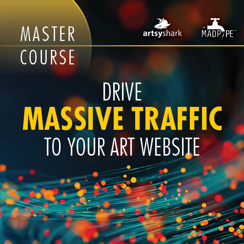 Course on how to Drive Massive Traffic to Your Art Website